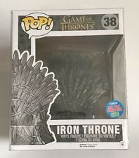 Funko Pop NYCC 2015 Game Of Thrones Iron Throne Chair Vinyl Figure