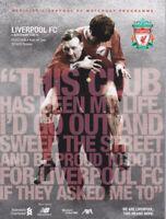 Liverpool V Southampton  Premier League Programme Bob Paisley Special 2019/20