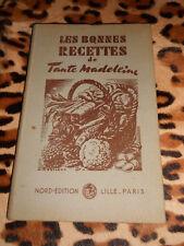 Les bonnes recettes de Tante Madeleine - Nord-Edition