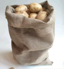 Jute Hessian Sacks Bags 5kg to 50kg Potato Vegetable Storage Sack