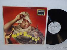 MAE BARNES Sings MONO WHITE LABEL PROMO LP Vanguard VRS 9039 (1959) WLP