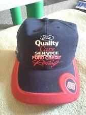 DALE JARRETT #88 Ford Quality Care RYR Baseball Cap/Hat Blue/Red