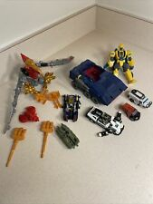 Vintage G1 80?s Transformers Lot And Modern Transformers Parts Repair Used