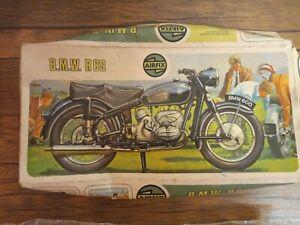 AIRFIX VINTAGE B.M.W. R69 MOTORCYCLE MODEL KIT