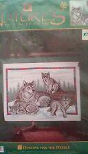 Wolf Family Cross Stitch Kit