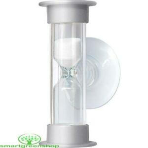 EcoSavers Hourglass 5 Minute Shower Timer Helps to Cut Shower Times, Save Water