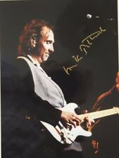 Mike Rutherford original hand signed photo 10.7 x 8 in mounted, by Mel Longhurst