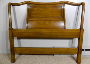 John Widdicomb sculptural twin headboard Cherry mid century Grand Rapids, MI