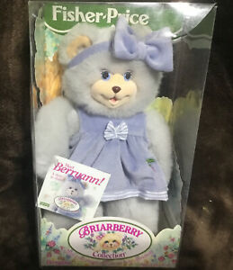 1998 Fisher Price Briarberry Berryann Bear in Box
