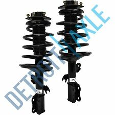 Both (2) NEW Complete Front Quick Struts w/Springs & Mount for Toyota Sienna