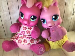 "My Little Pony Babies Ponies Interactive  9"" tall sitting (AL)"