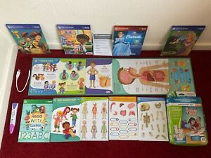 Leap Frog LeapReader Reading Help Toy Book Set Tangled Doc McStuffins Toy Story3