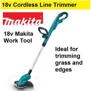 Makita 18v Cordless Line Trimmer Whipper Snipper Yard Garden Edger Grass Cutter