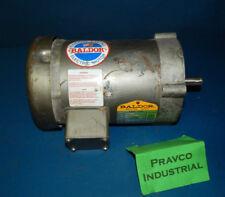 Baldor KM3454 3Phase Motor 1/4(.25)HP 208-230/460V 1725RM 60Hz 1.4-1.3/.65Amp
