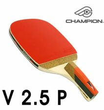 Champion V2.5 P Table Tennis Penholder Ping Pong Racket, Paddle , Bat, Blade