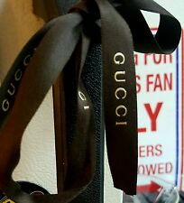 Gucci Brown Ribbon - $13 for two yards....Free Shipping