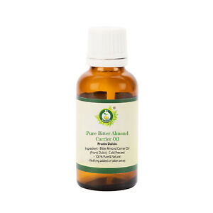 Pure Bitter Almond Oil Prunis Dulcis pure and Natural Uncut For Skin Hair