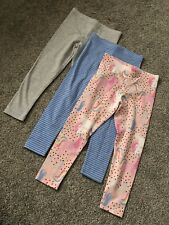 F/&F Girls Fabulous floral skinny elasticated Leggings.Size 10-11 years Brand NEW