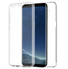 360 TPU Gel Case Front + Back Protector For Samsung Galaxy S7 / S8 Plus BUNDLED