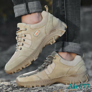 2019 New Desert Shoes Men Low Top Military Tactical Combat Army Boots Outdoor