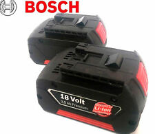 Bosch 18v lithium ion battery TWIN PACK