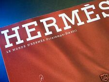 THE WORLD OF HERMES Lifestyle Collection Magazine Booklet - Spring / Summer 2011