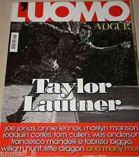 L'UOMO VOGUE MAGAZINE=2011/424=TAYLOR LAUTNER=MARILYN MANSON=ANNIE LENNOX=