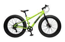 "2017 Coyote Skid Row Gents 17"" 7 Speed 26"" X 4"" Fat Tyre MTB Bike Green CYT500"