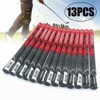 13 pcs Golf Pride Grip Multicompound rot mittelgroß Golfgriffe Anti-Rutsch-Griff