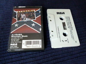 MC Cassette Tape Alabama Mountain Music Take Me Down Gonna Have A Party 1982 USA