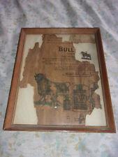 BULL DURHAM NEWS AD 11/11/1911  AND BULL DURHAM CHARM