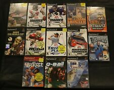 PS2 Game Bundle Lot of 13 Sports with Madden, Cabela's, NBA, FIFA, NCAA, etc.
