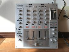 Technics SH-MZ1200 Professional DJ 4-channel Mixer with Digital In/Outs Silver