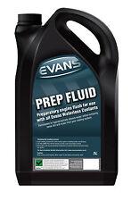 Evans sin agua refrigerantes Prep Fluid/Motor Flush, 5 litros, todos los coches