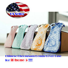 Glow in the Dark Chinese Cheongsam Lady Fashion Dress COVER CASE for iPhone 5