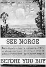 1945 Norge Household Appliances Better Product For A Better World Borg Warner Ad