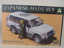 Geländewagen Mitsubishi m. Freiheitskämpferin - Takom Bausatz 1:35 - 2007 #E