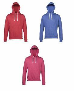 AWDis Hoodie Mens Ladies Unisex Slim Lightweight Hooded Sweatshirt  JH008