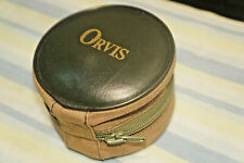 """orvis battenkill padded trout fly fishing reel case pouch """"Excellent Condition"""""""
