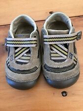 Boys Stride Rite Shoes, Size 5.5, tan, brown Baby, Toddler