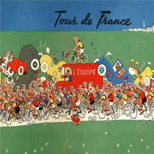 """Tour De France Chaos Poster vintage bicycle art Tour De France 24"""" x 36"""""""