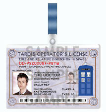 DOCTOR WHO - 10th Doctor cosplay I.D. Badge