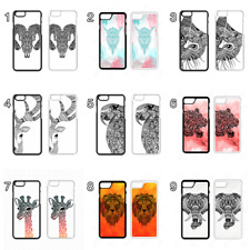 Aztec Tribal Animal Phone case iPhone 4 5 SE 6 7 8 + X Xs  X Max Giraffe Tiger