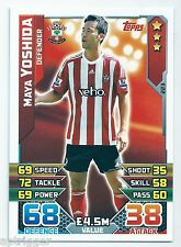 2015 / 2016 EPL Match Attax Base Card (223) Maya YOSHIDA Southampton