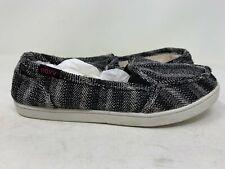 NEW! Roxy Women's Lido Wool Slip On Shoes Black/White #457P64 150S tz