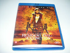 Resident Evil : Extinction * BLU RAY DISC 2007  * DUTCH SUBS