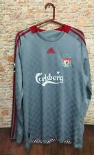 Adidas Soccer Carlsberg Steven Gerrard #8  Long Sleeve Jersey Men's Large