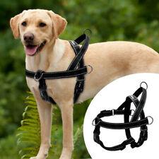 No Pull Dog Harness Nylon Reflective Adjustable for Large Dogs Bulldog Labrador