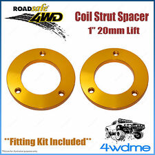 "Pair Toyota Hilux KUN26 4WD Roadsafe Front Coil Strut Spacer 1"" 20mm Lift Kit"