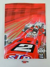 New 2019 Official Program IndyCar GP Indianapolis 500 Starting Line-Up Insert